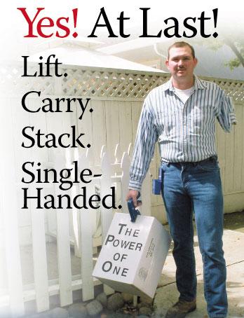 One Hand Box Lifting Tool